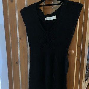 Zara Knit Black Sweater Dress